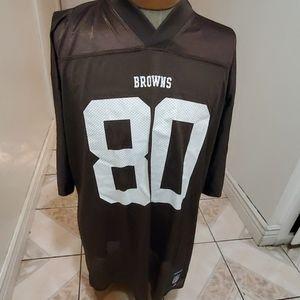 Cleveland Browns jersey #80 wilson Sz Xl